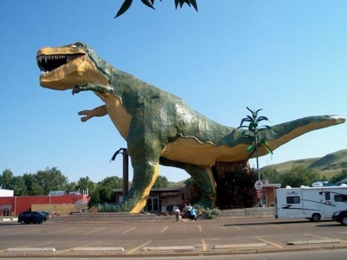 The world's largest dinosaur.