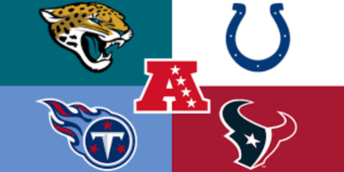 The Titans and Colts both finished 11-5 while the other two teams finished under .500