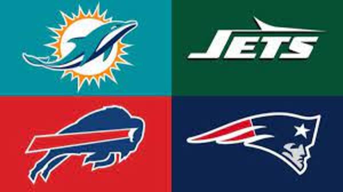 The Bills won the division last year as the Dolphins, Patriots, and Jets followed.