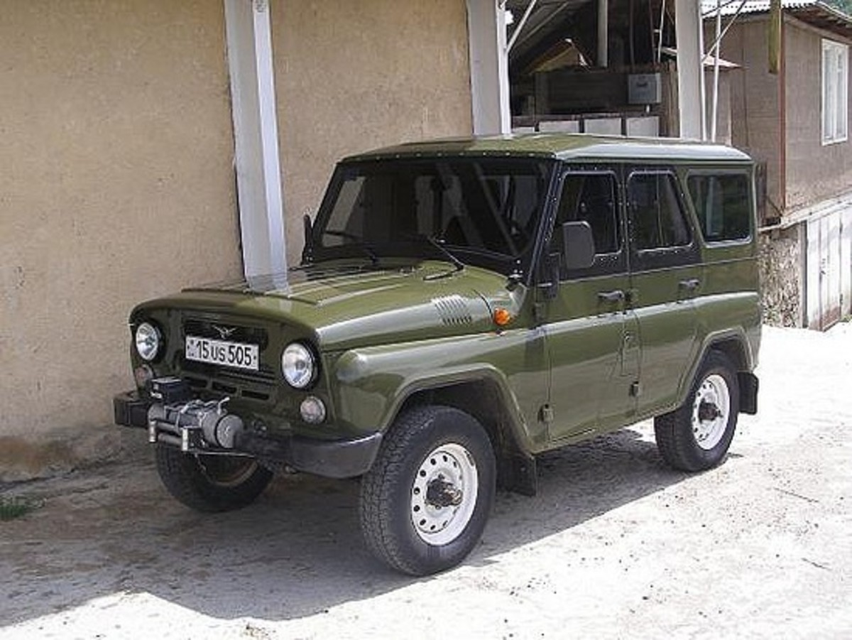 A Russian jeep