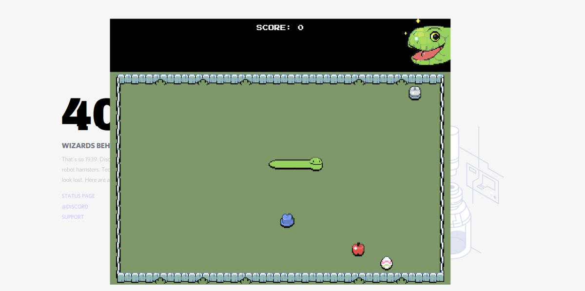 After following the steps above, you should then be able to play Discord's snake game!