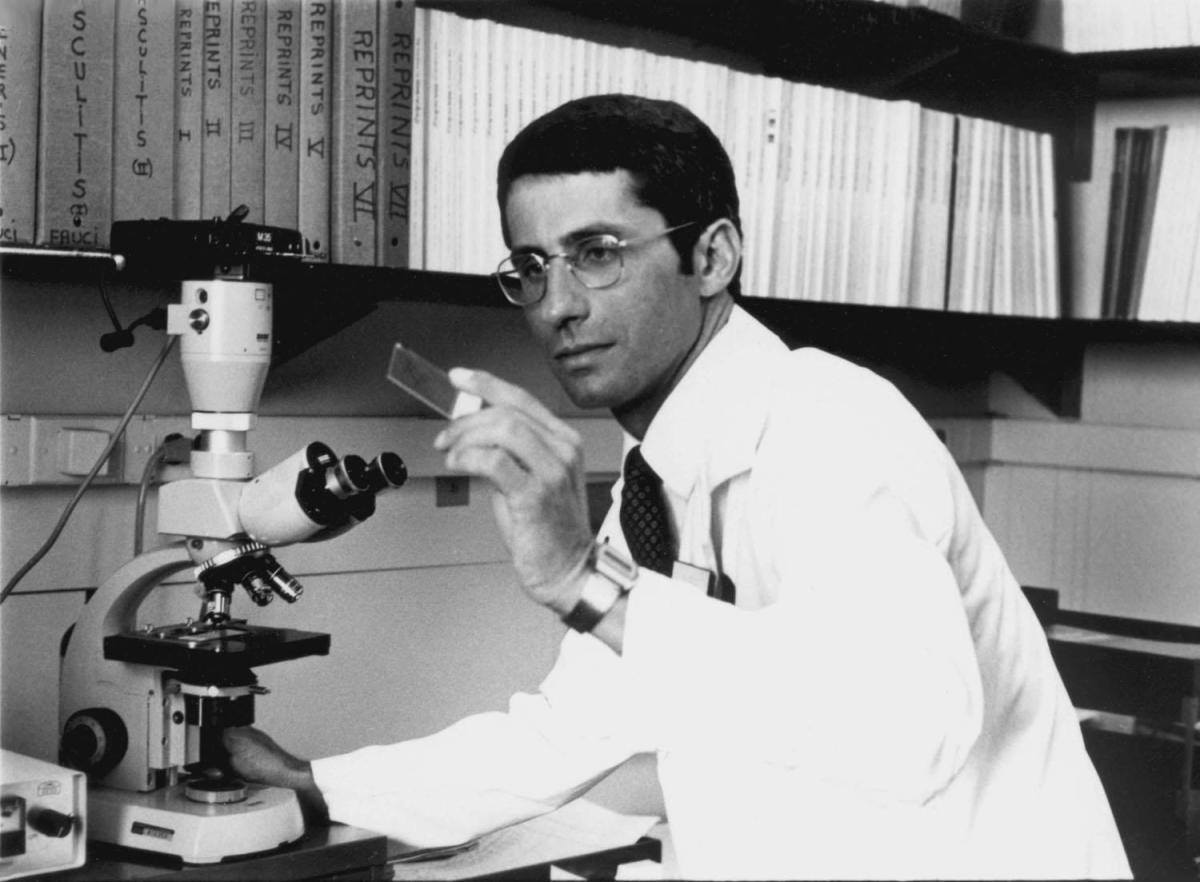 Dr. Anthony Fauci (1985)