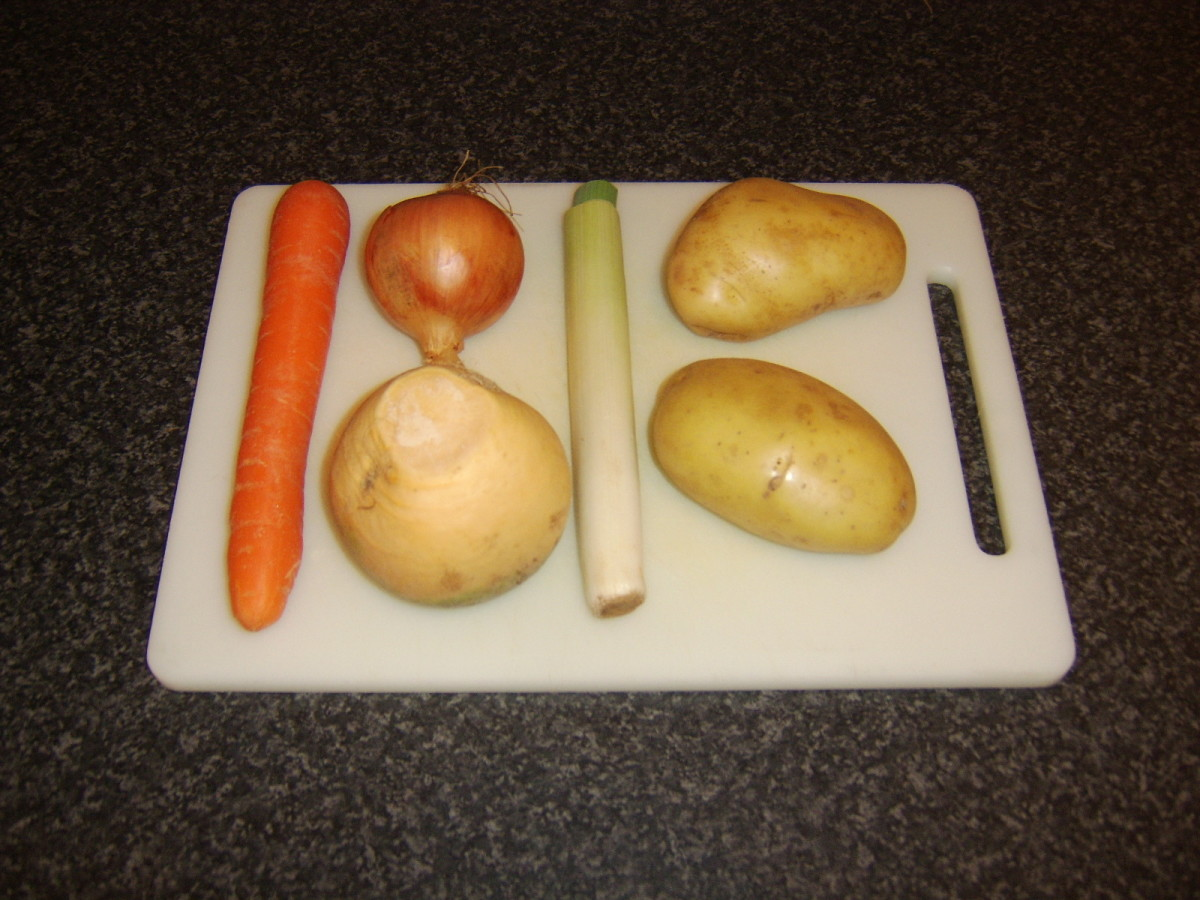 Selection of root vegetables