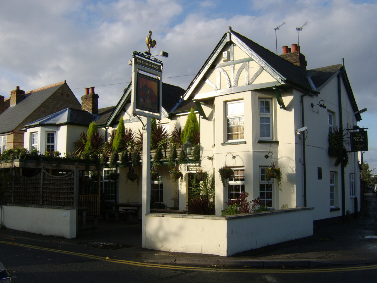 The Cowley Brick was my local pub when I lived in Uxbridge, Middlesex