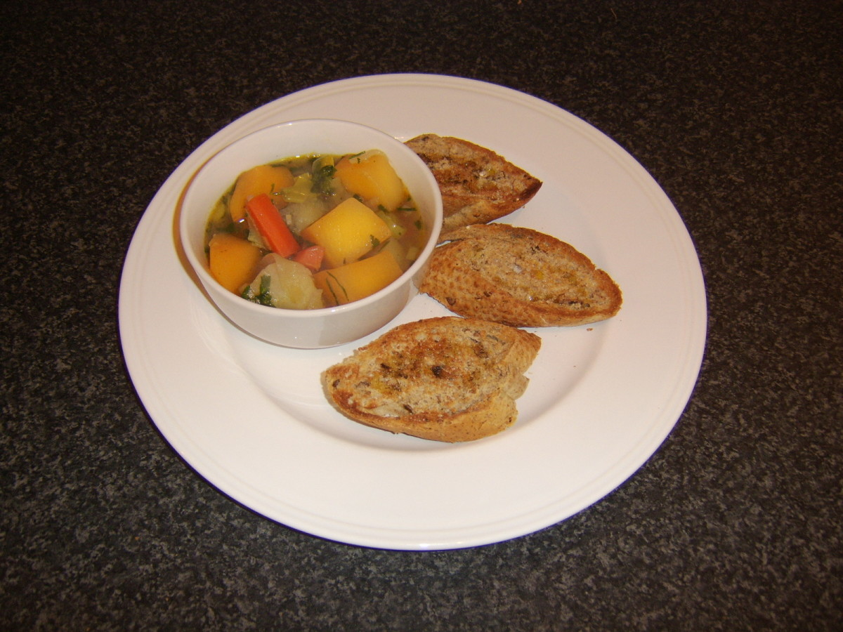 A simple but delicious root vegetable stew that makes a healthy and satisfying lunch