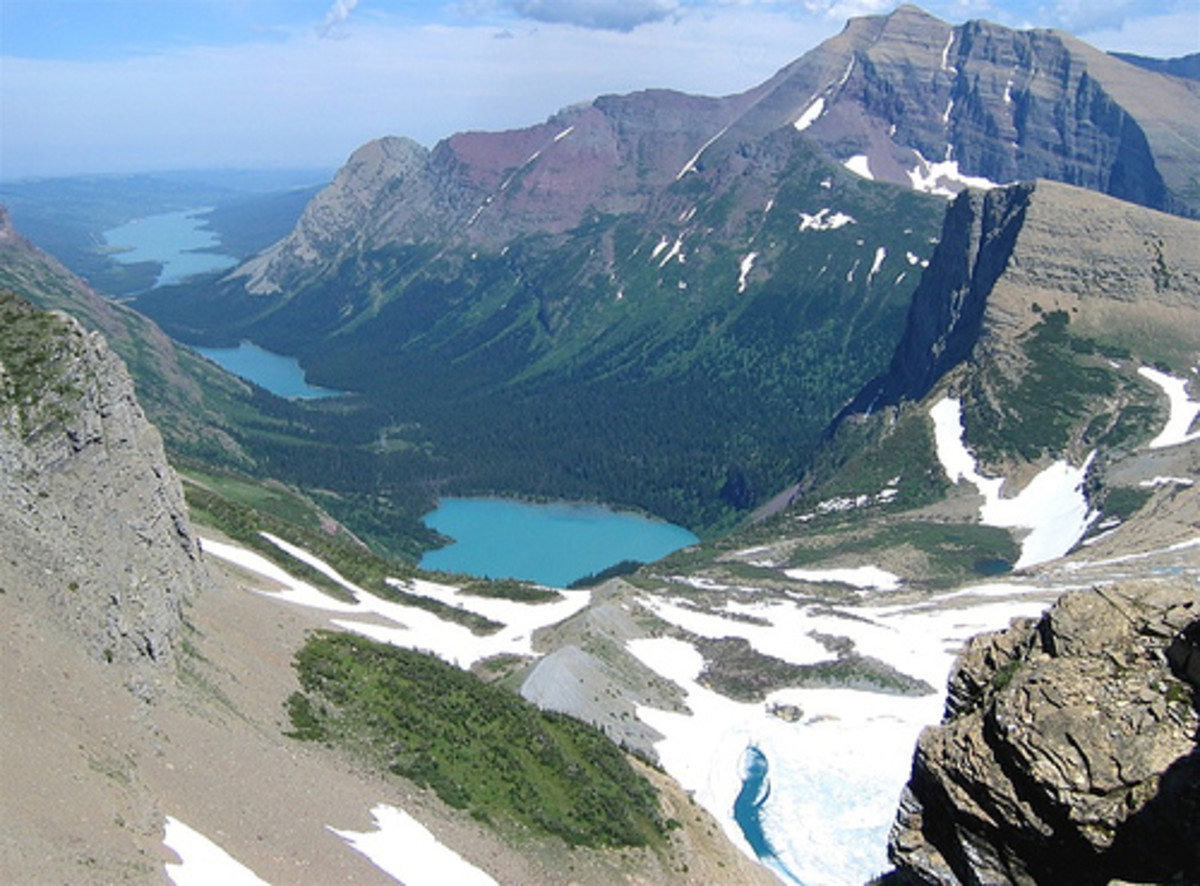 Grinnell Glacier Overlook at Waterton Lakes National Park/Photo by:Catherine Granger