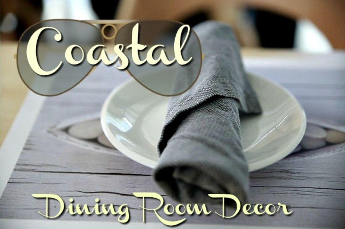 Bring the fresh look of the coastal regions into your dining room decor.