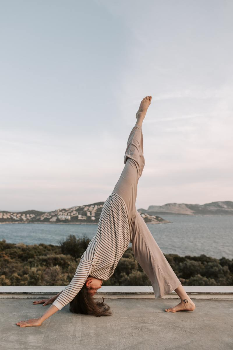 Make your skin supple by regular exercise and yoga preferably in the open air.
