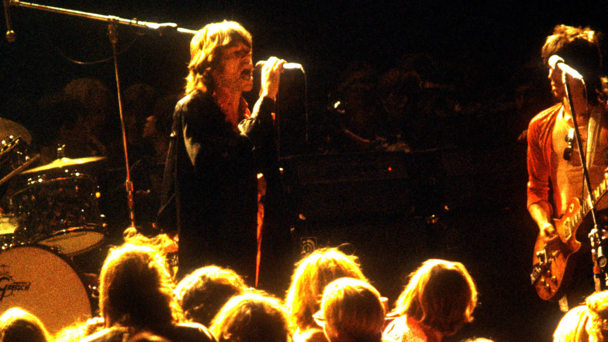 Mick Jagger and Keith Richards at the Altamont Free Concert in 1969
