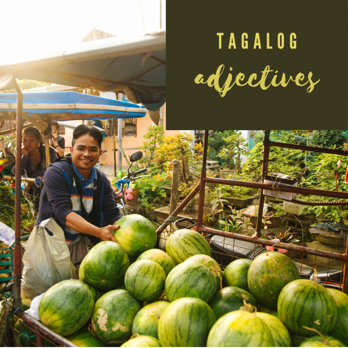 Learn how to describe the things around you with Filipino adjectives!