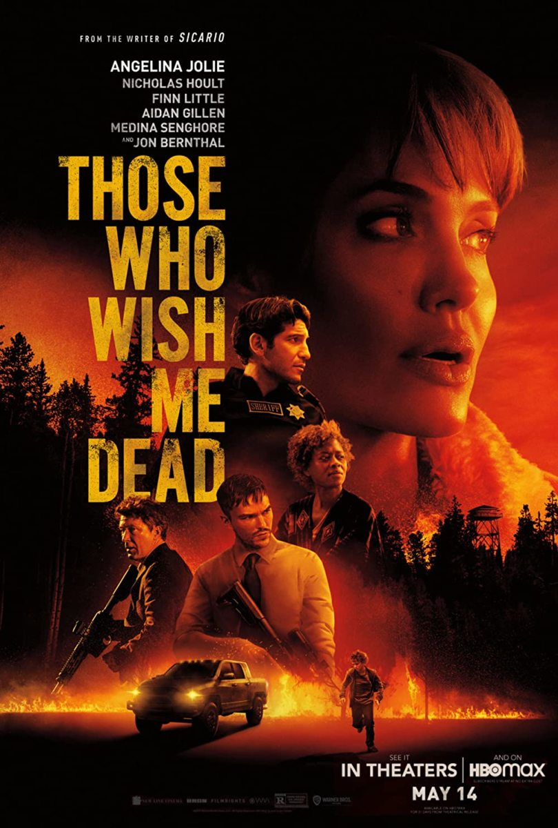 Movie Review of Those Who Wish Me Dead(2021) Starring Angelina Jolie