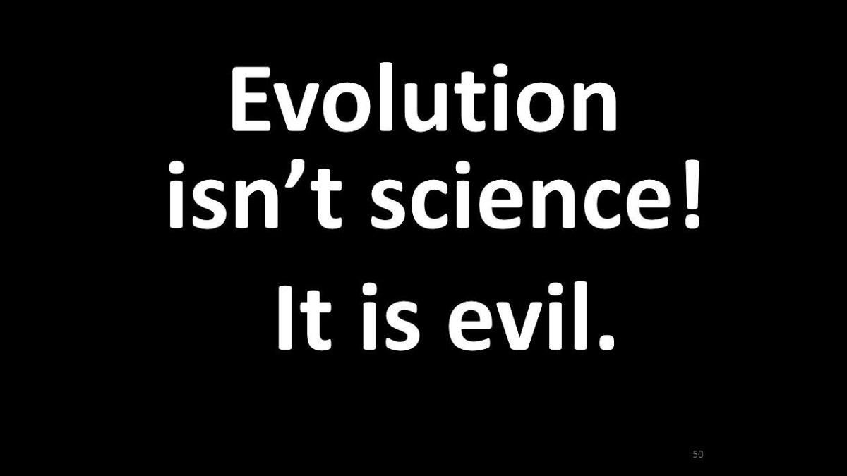 Evolution is Evil
