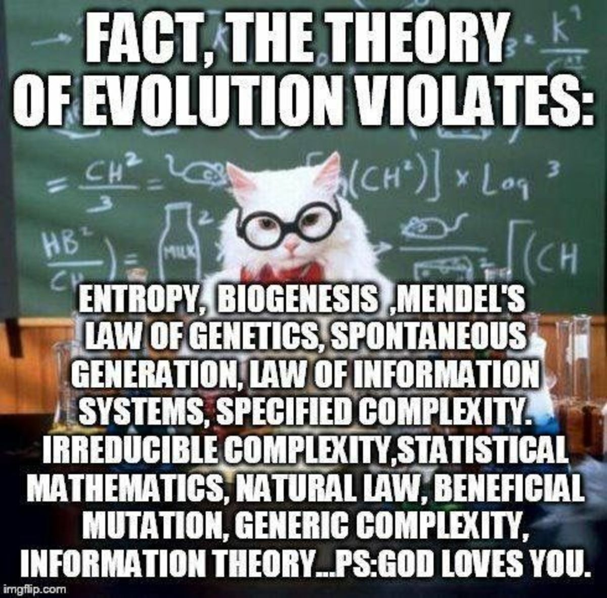 The Theory of Evolution Violates Science
