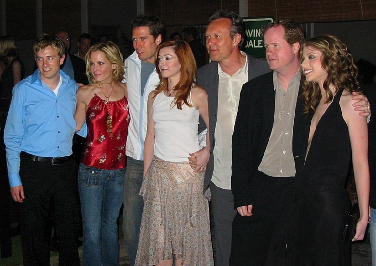 The cast of Buffy the Vampire Slayer.