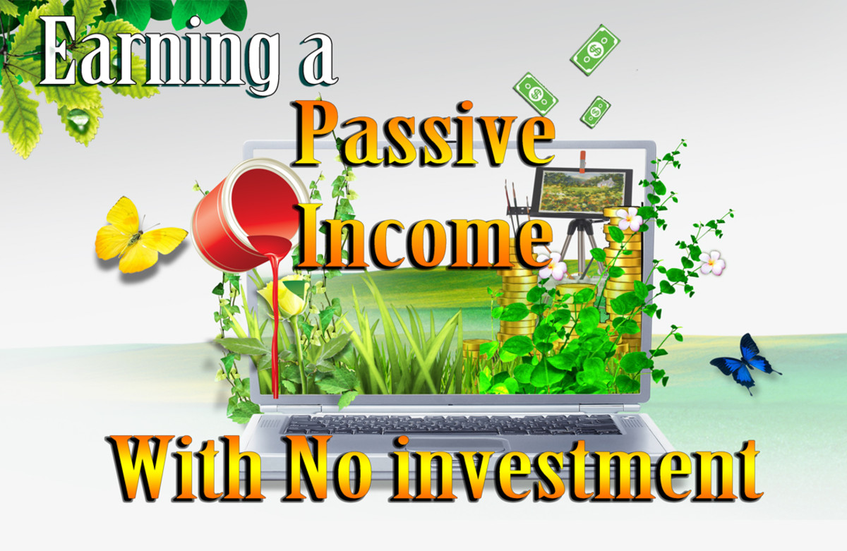 Earning a Passive Income without any Investment