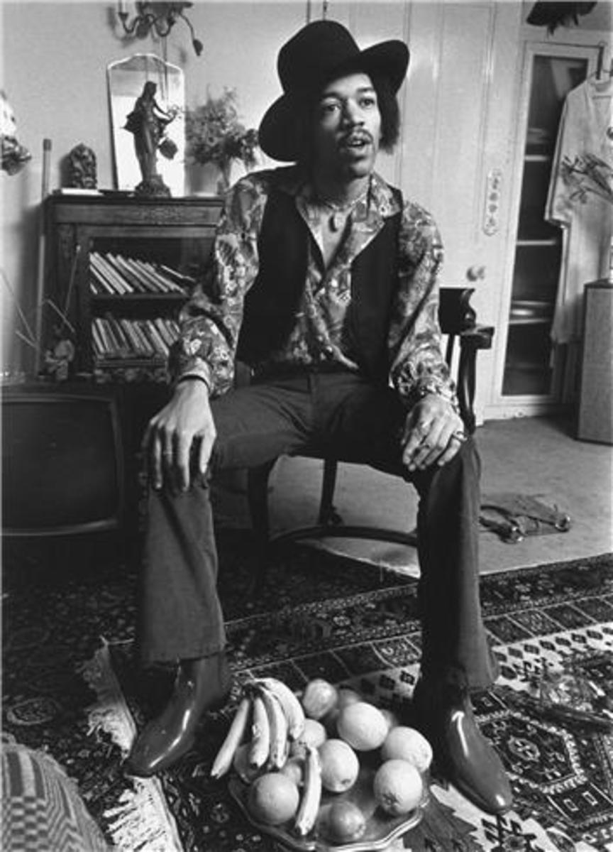 Jimi Hendrix 1969