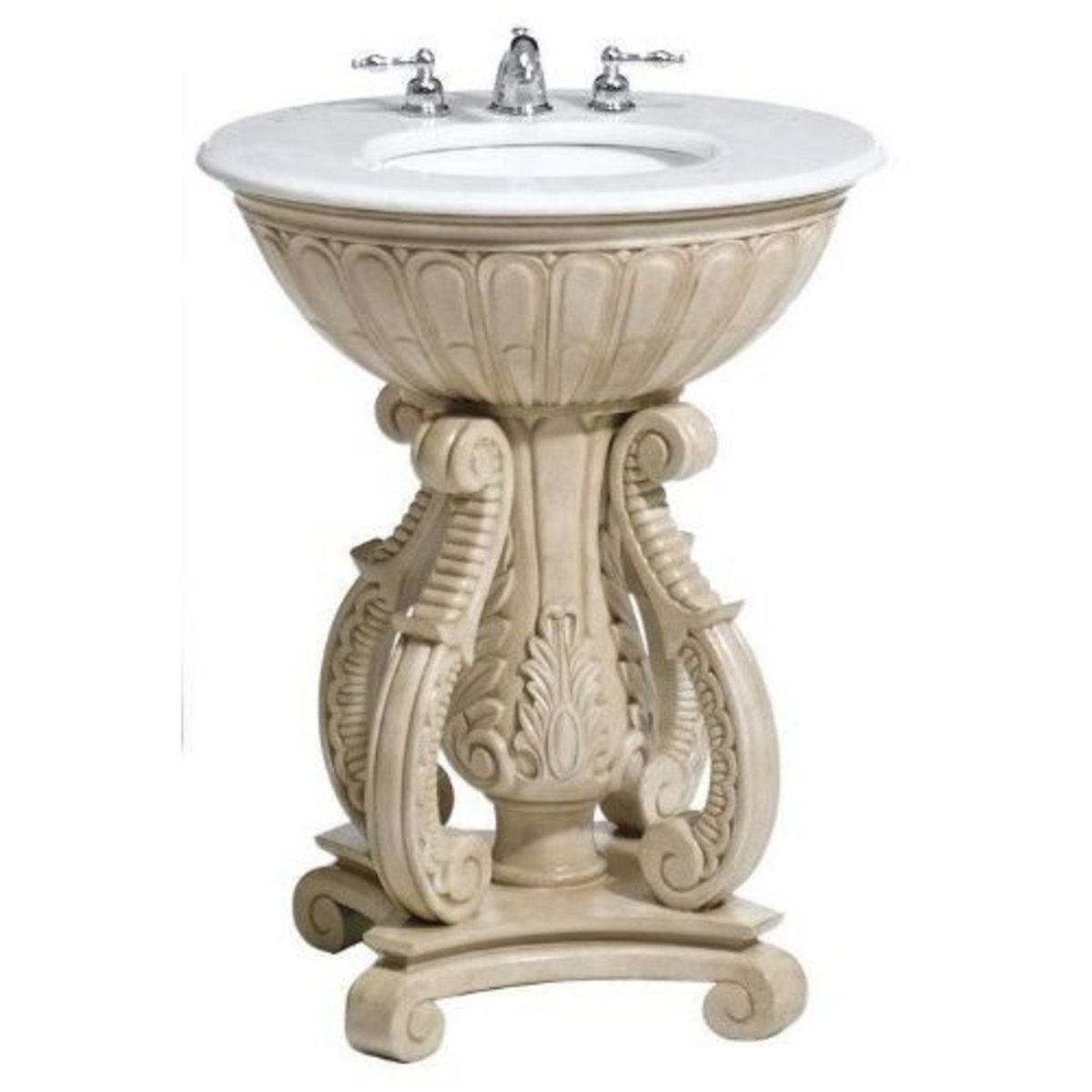 Pedestal bathroom sinks can be elegant!