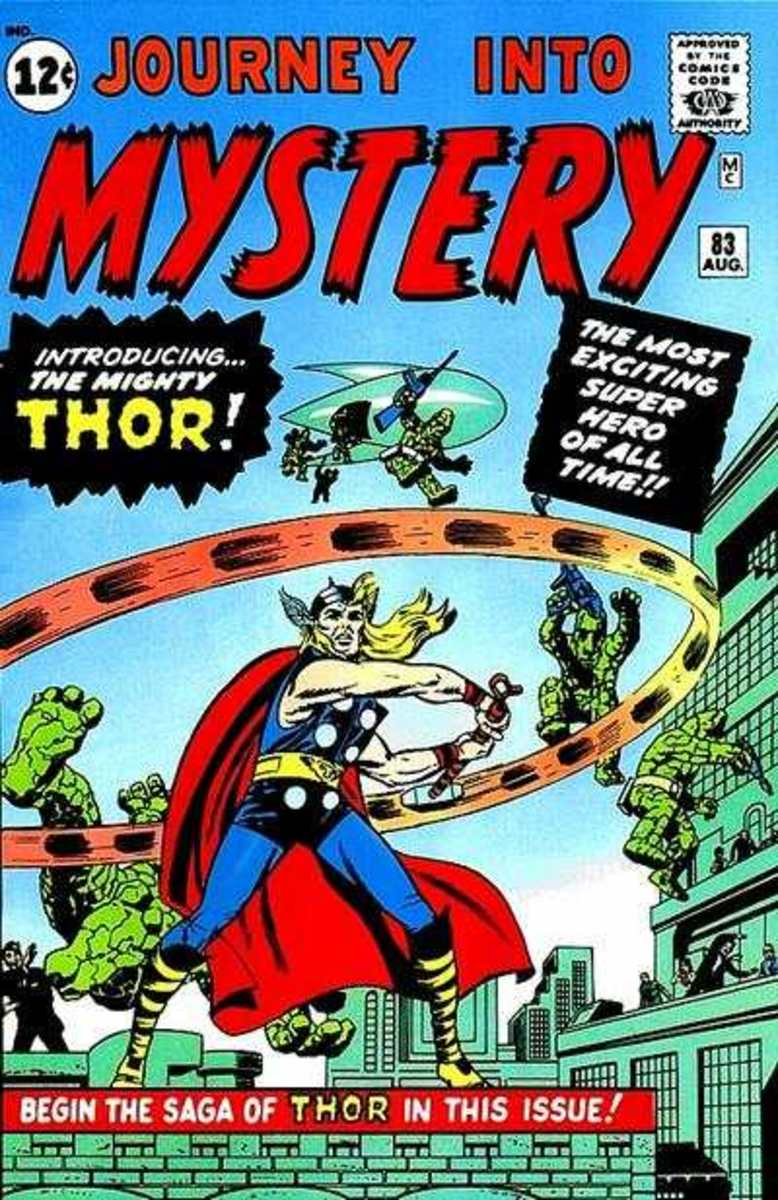 Journey Into Mystery #83. First Appearance of Thor!