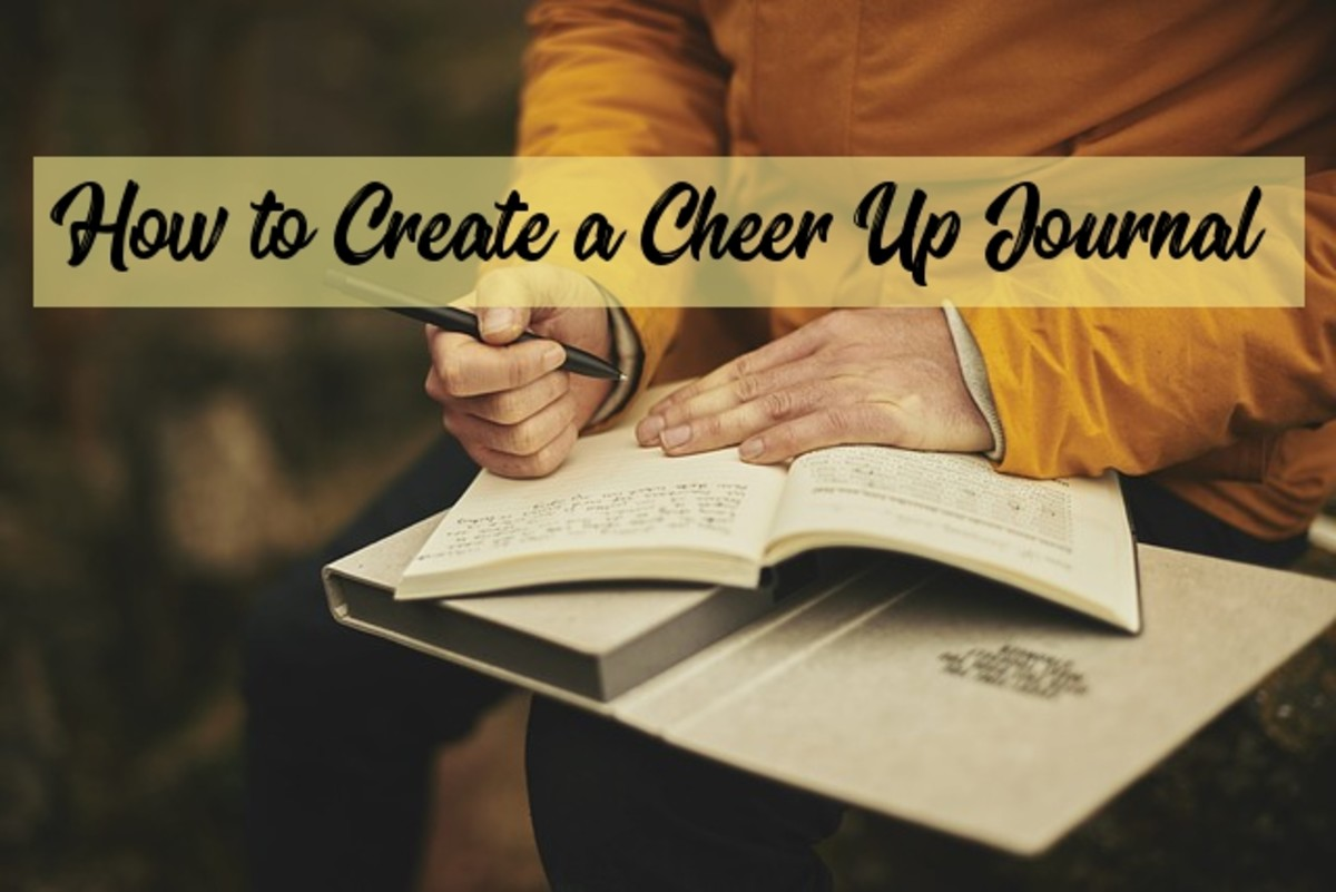 A Cheer Up Journal may be what you need to stay positive