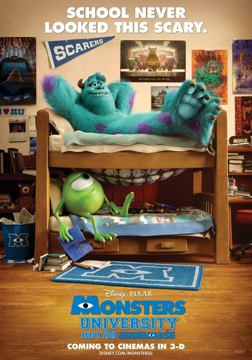 Monsters University (2013) poster