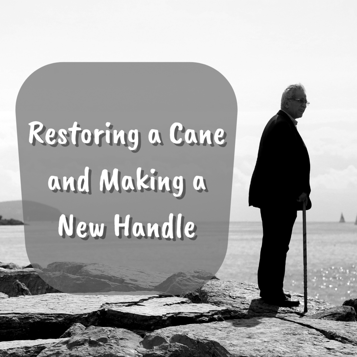 This illustrated step-by-step guide will teach you how to restore your cane and even make a new handle for it.