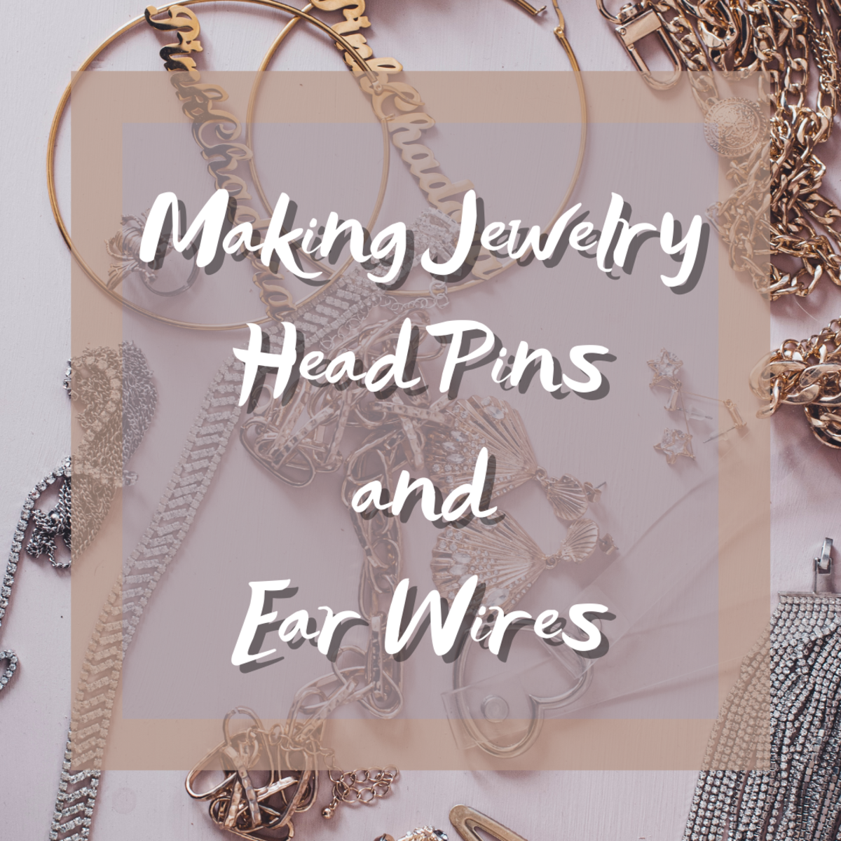 This tutorial will teach you how to easily create your own balled headpins and ear wires for jewelry.