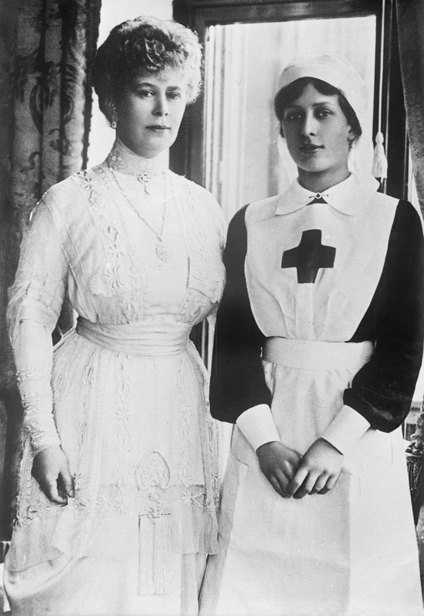 Queen Mary and Princess Mary