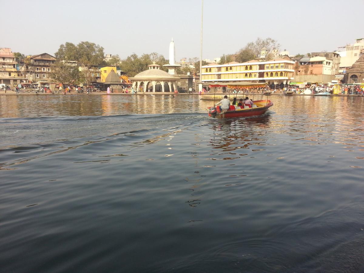An Afternoon At the River - River Godavari, Nashik
