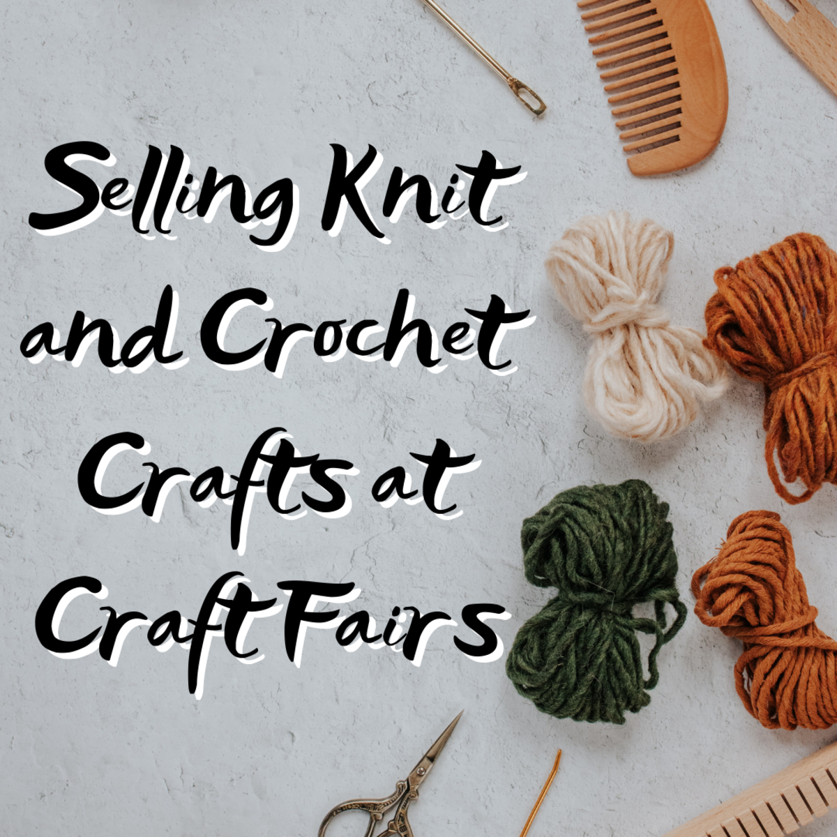 Learn tips and tricks for selling handmade knit and crochet crafts! Find out what some of the best selling crochet items at crafts shows are!