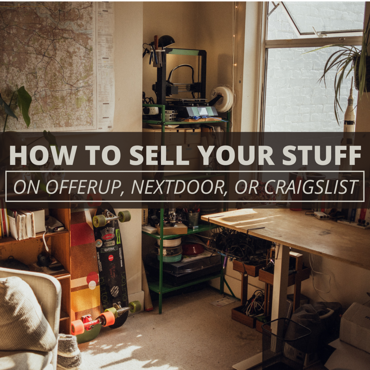 Selling at local online marketplaces can help you make money.