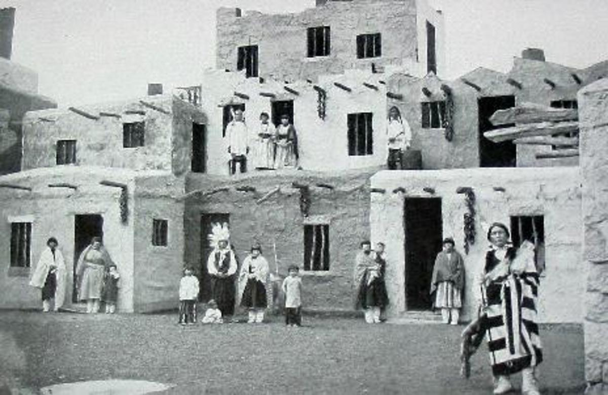 """Cliff Dwellers"" presented at the 1904 World's Fair"