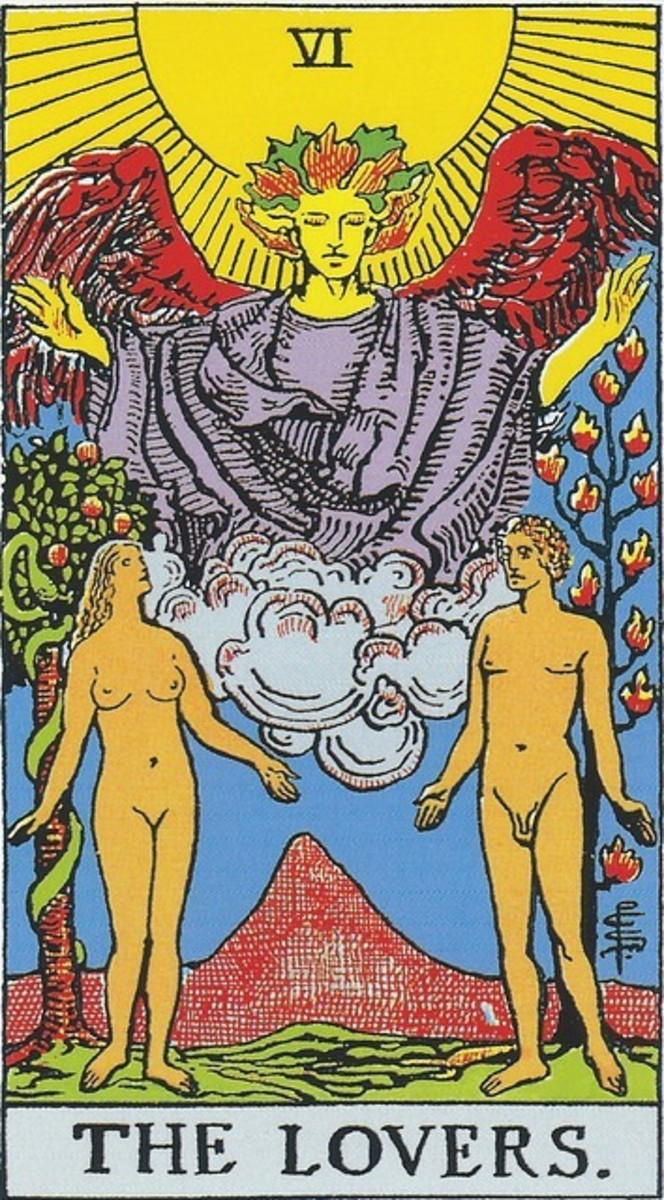 Everyone loves The Lovers card. Upright, it means spiritual balance and total honesty in a relationship. Isn't that the real definition of love? In a business, health, household, or money reading, this card shows divine favor.
