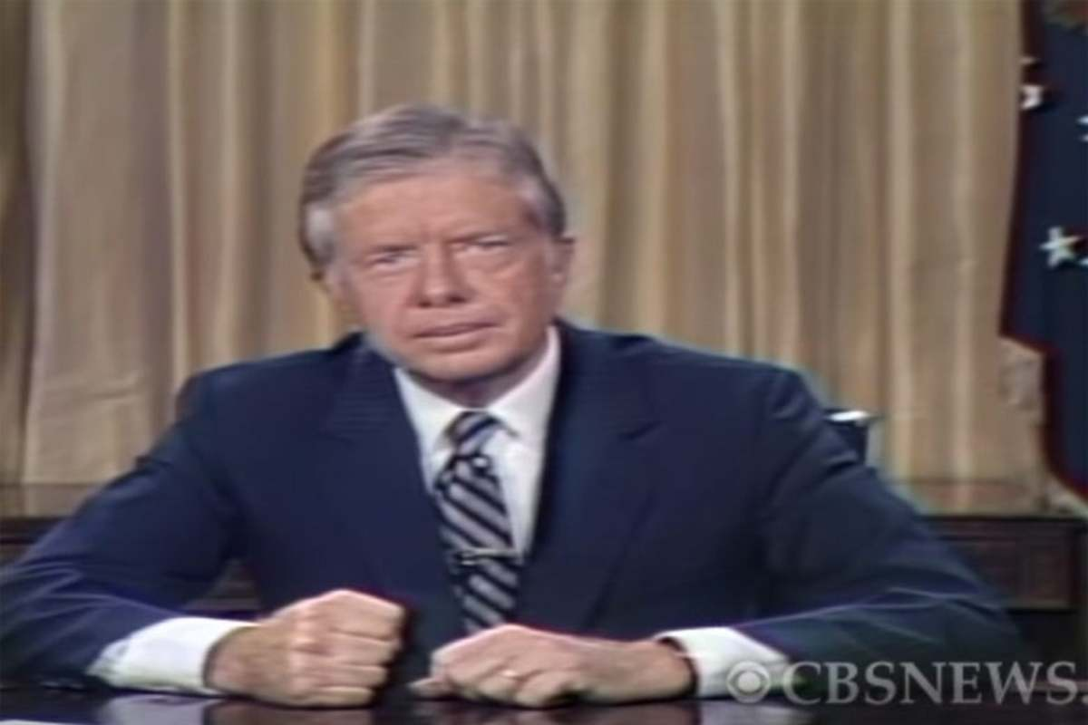 Carter supported the Pol Pot regime for a seat in the UN.