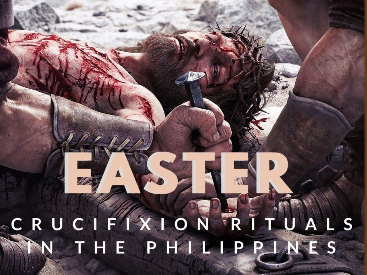 Easter Traditions Philippines - The Annual Self-Flagellation and Crucifixion