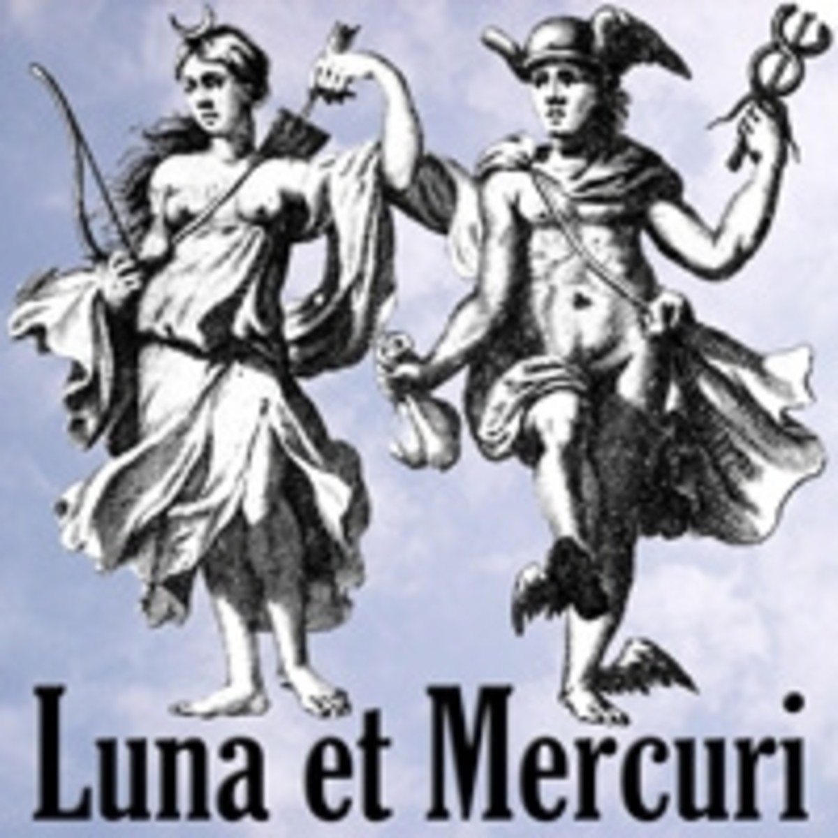 Roman mythology - Luna and Mercury