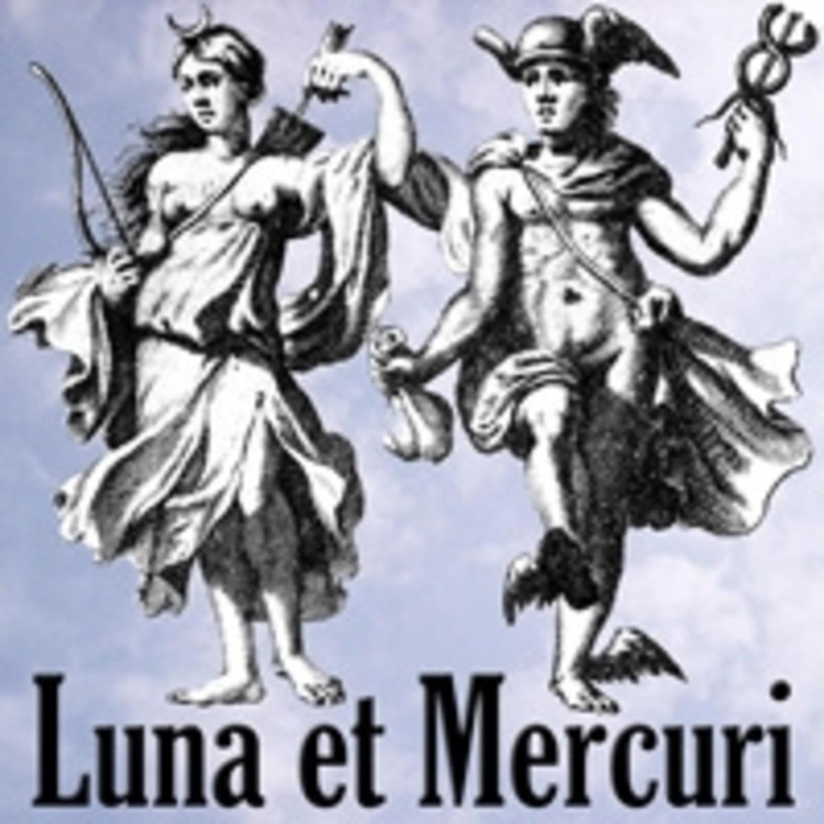 Roman mythology - Luna and Mercury