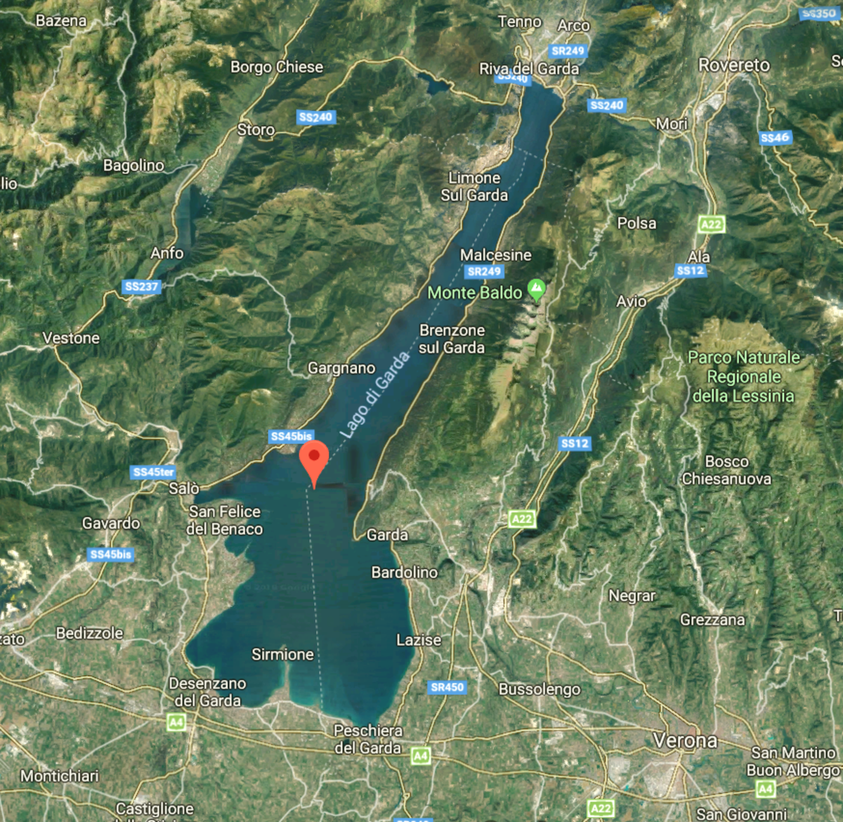 Lake Garda is surrounded by striking destinations.