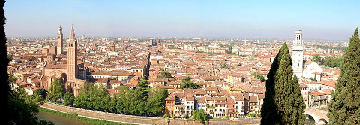 View of Verona, Italy