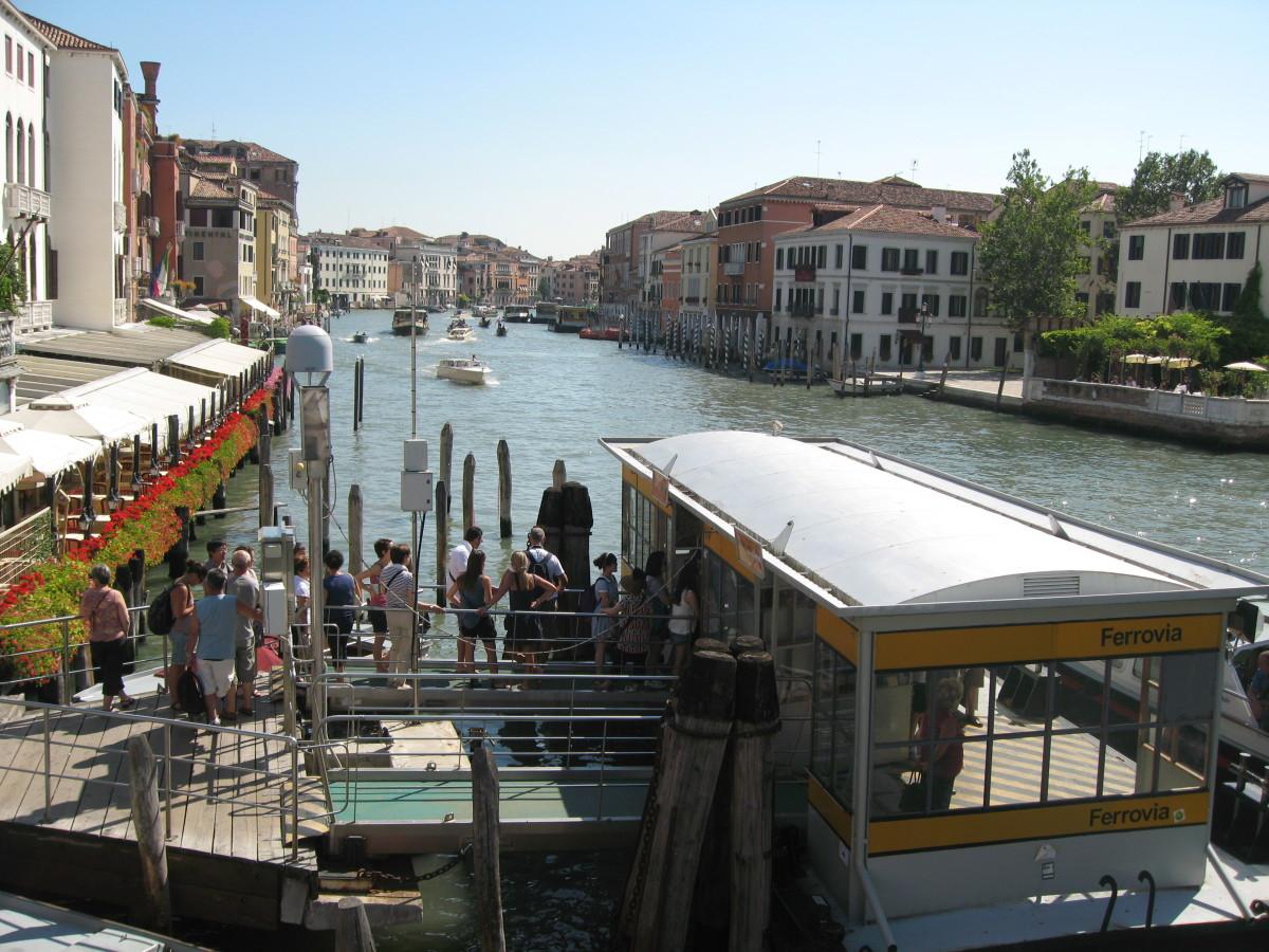 Venice, view from the Ponte della Stazione