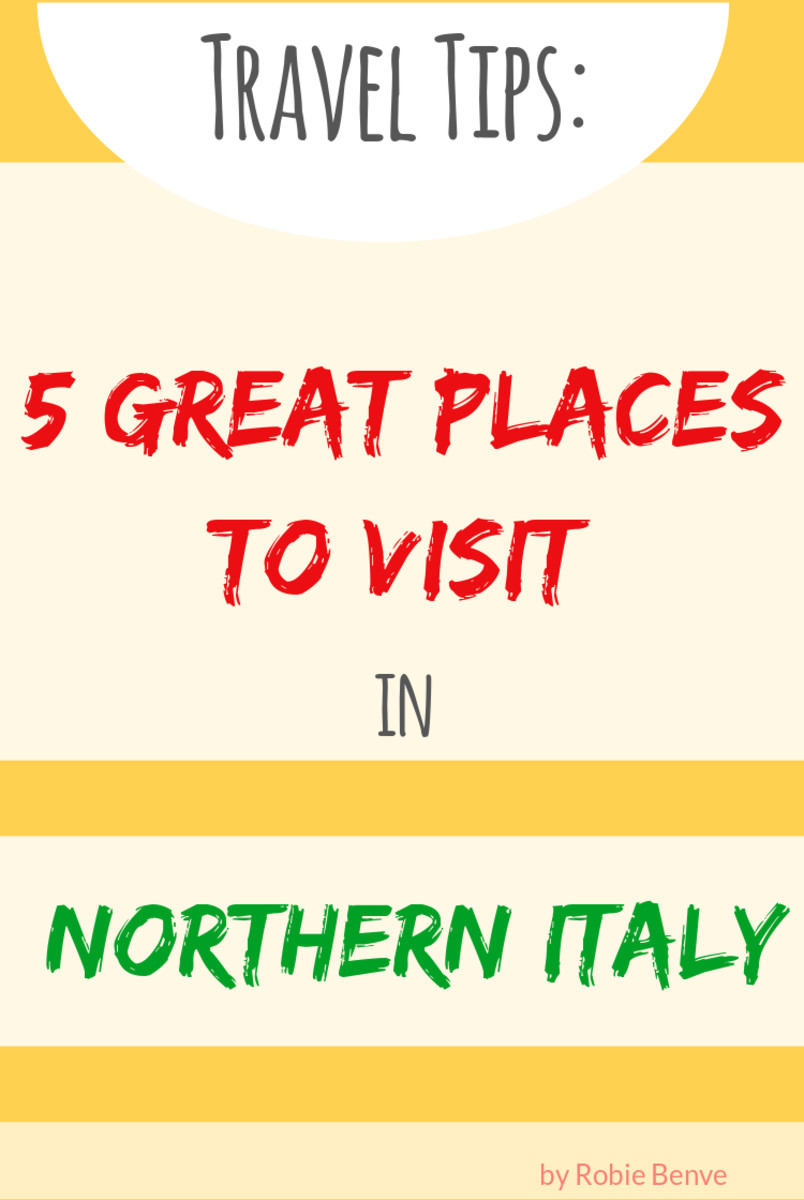5 of the top places to visit when you travel to Northern Italy. What to see in Trieste, Venice, Verona, Lake Garda, and Genoa.