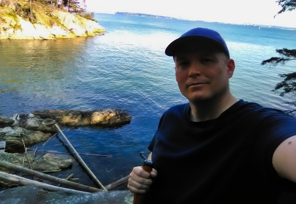 Lighthouse Park in West Vancouver Hiking Trails