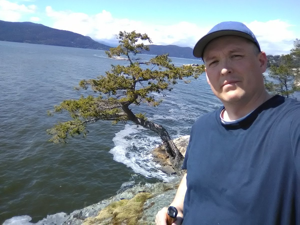 Juniper Point in Lighthouse Park in West Vancouver.