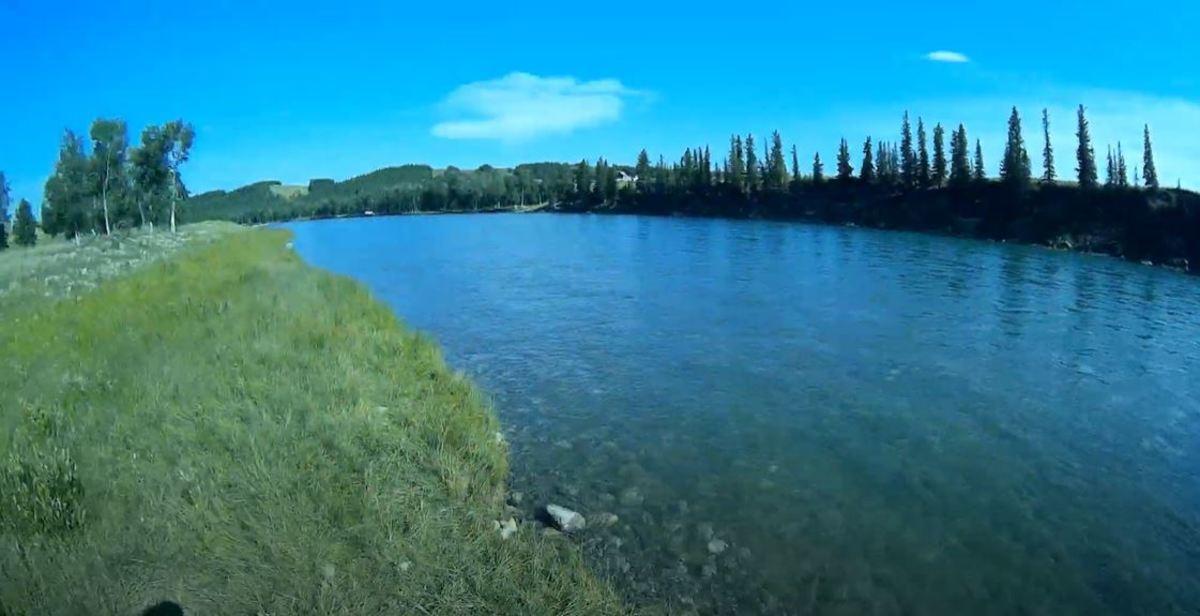 Glenbow Ranch Trails Near Cochrane Alberta