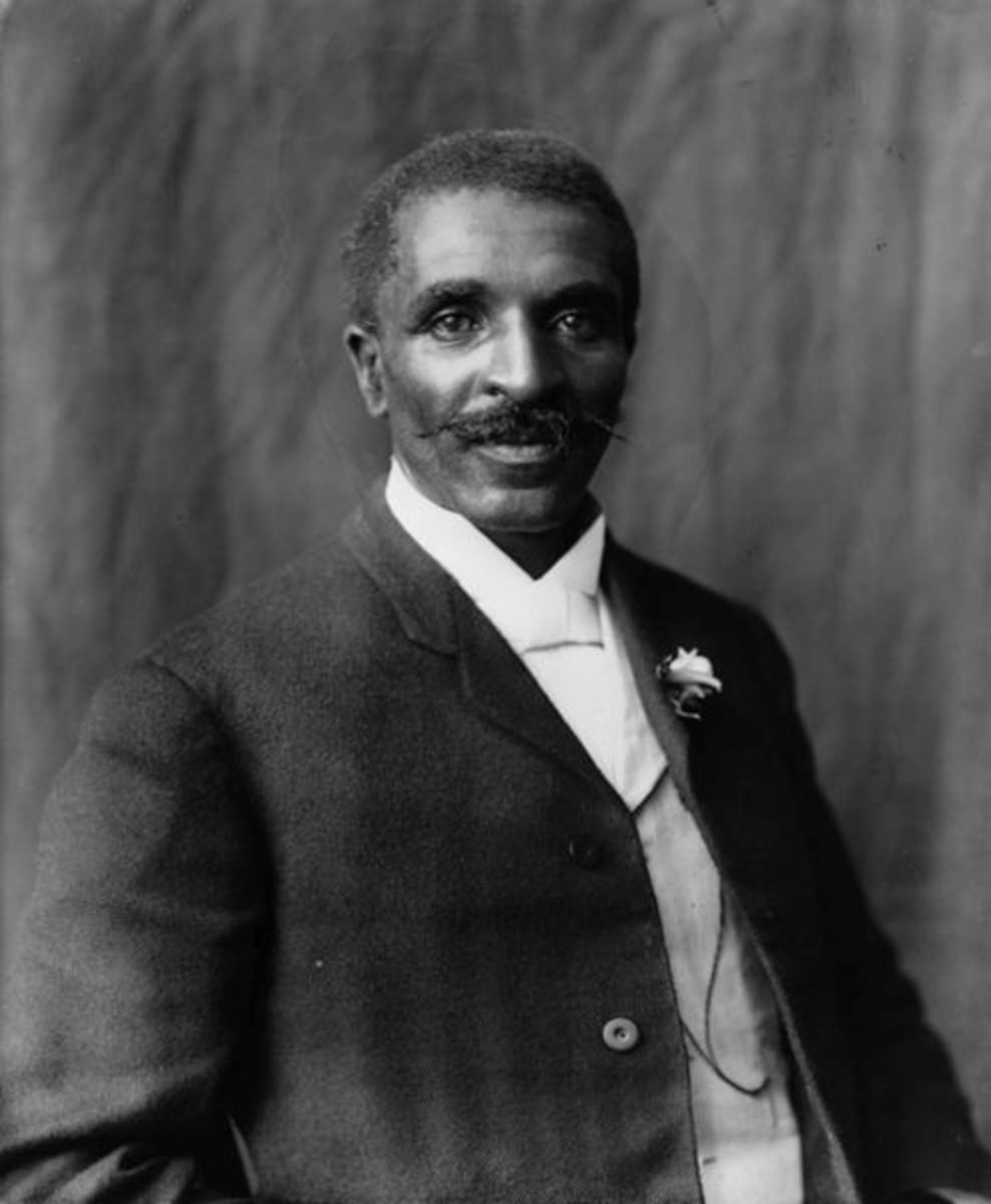 George Washington Carver. He discovered over 300 uses for the peanut.