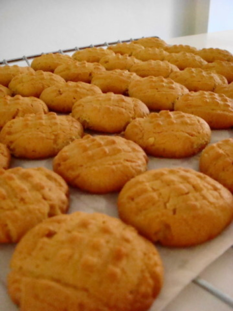 Delicious Old Fashioned Peanut Butter Cookies