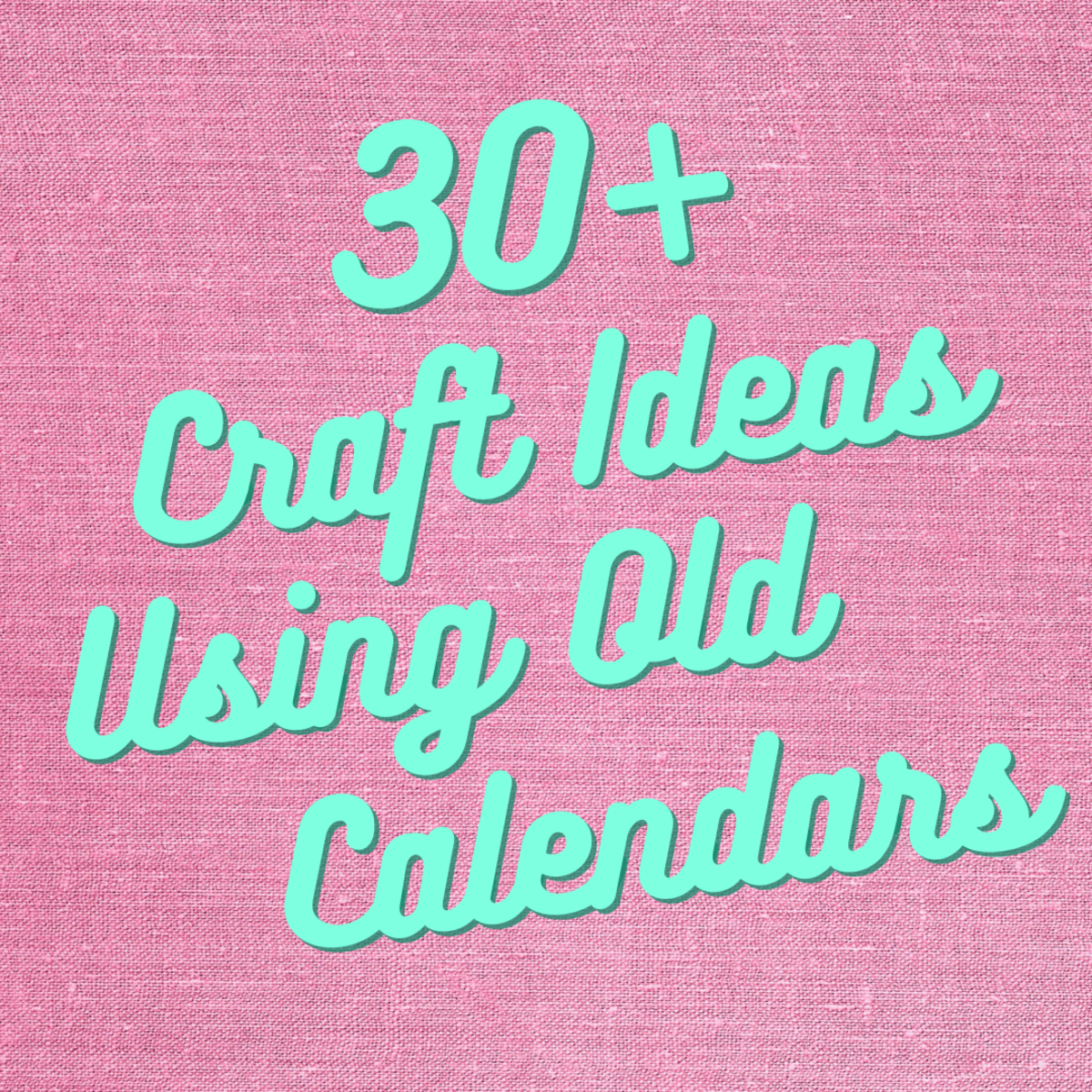 This article offers over 30 crafting ideas to turn old calendar pages into awesome gifts, ornaments, and more!