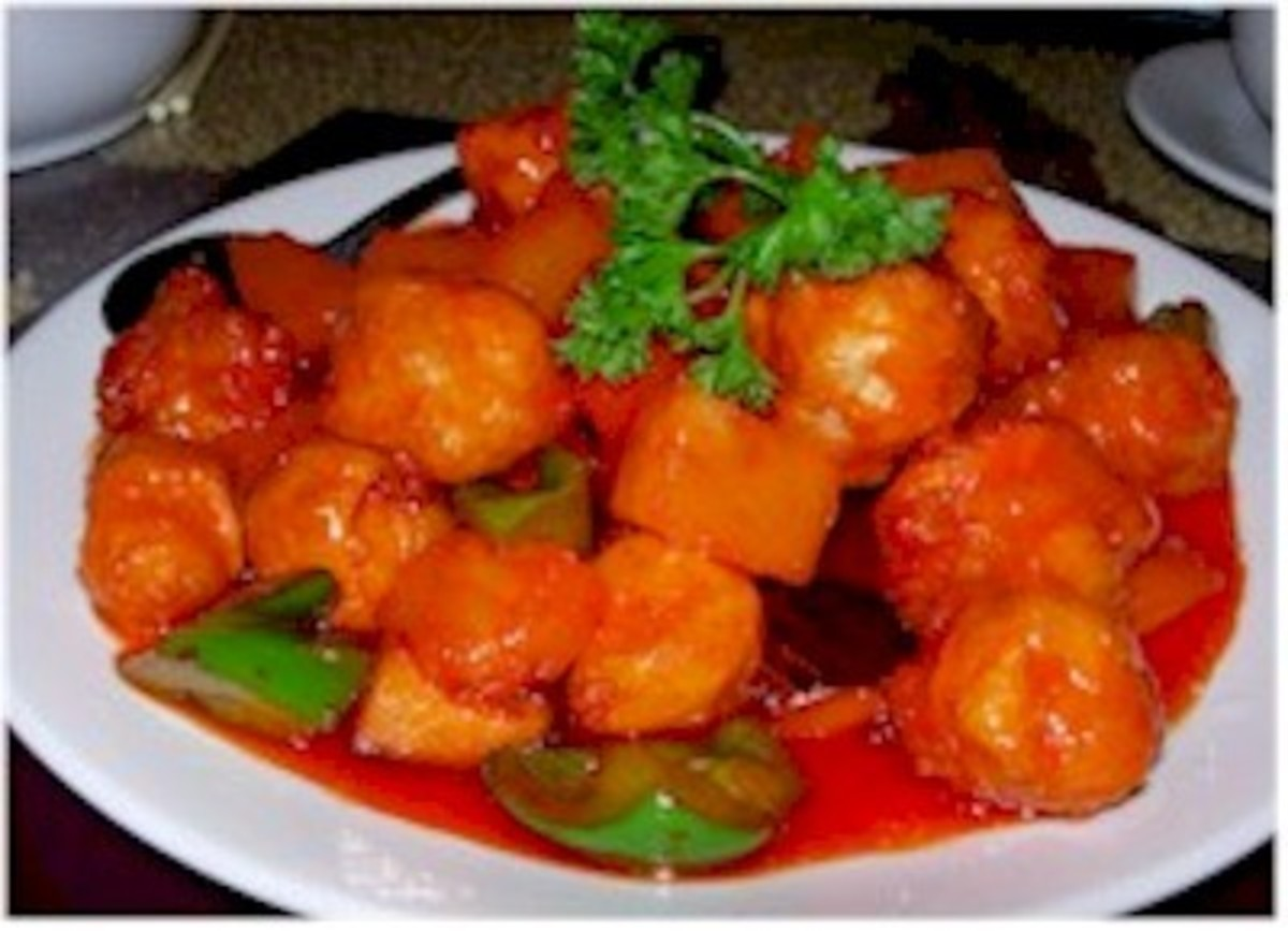Cantonese Sweet and Sour Pork Recipe