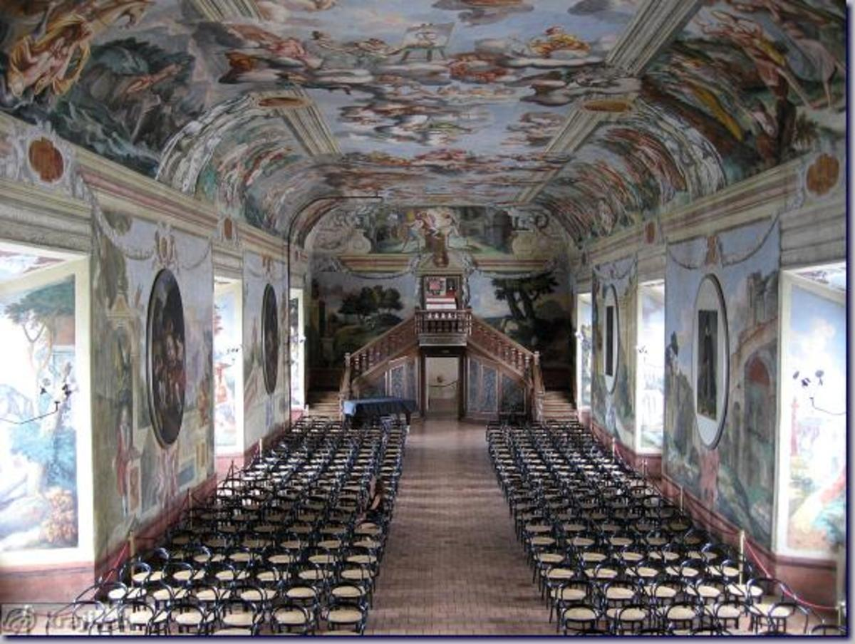 Brezice - Knights' Hall