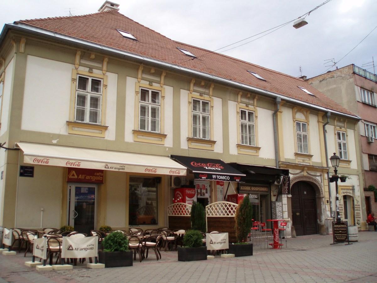 Old house in Zemun, 1801 year