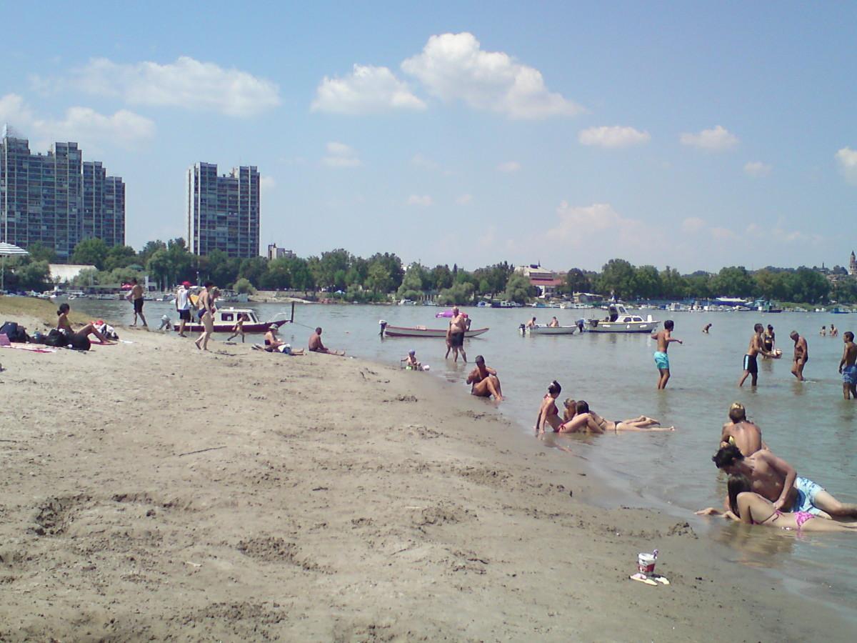 Lido, Belgradians favorite beach.